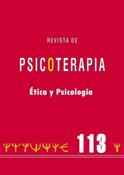 Ethics and psychotherapy: A socio-cultural perspective